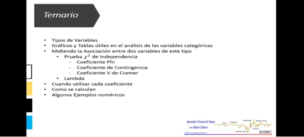 Medidas de asociación de Variables Categóricas | Lambda y Basados en Chi Cuadrado