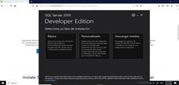 Instalando SQL Server en Windows